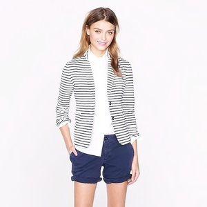 J. Crew Mariner Soft Cotton Blazer S